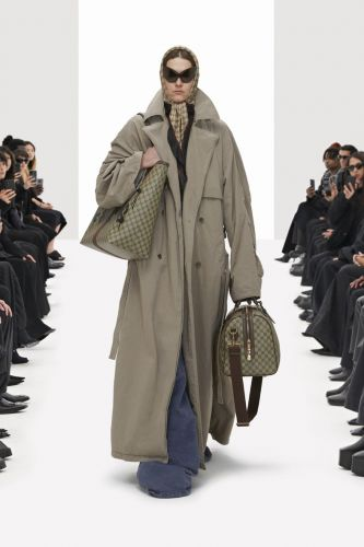 """Balenciaga """"Hacks"""" Back Gucci for Its Latest Collection"""