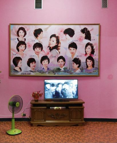 North Korean interiors that look like Wes Anderson film sets