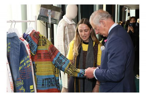 HRH The Prince of Wales Champions The BFC's Positive Fashion Initiative