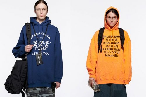 Balenciaga Spring 2021 Playfully Defies Fashion's Norms