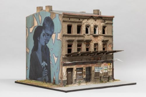 Joshua Smith Showcases Miniature Building & Mural at KIRK Gallery's Group Exhibition