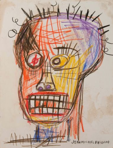 The early Basquiat works created when he was a teenager