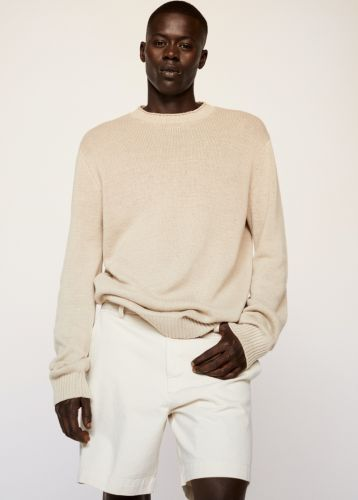 Alpha Dia Slips Into Mango's Chic Clean Collection