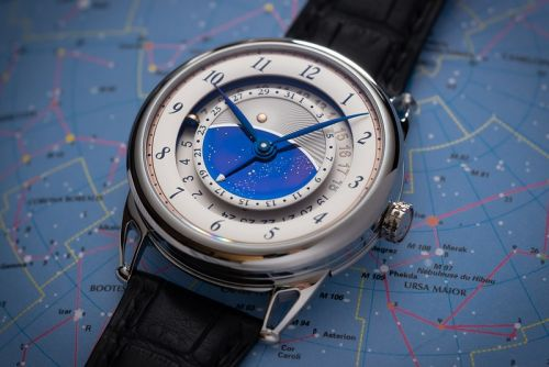 De Bethune Bets on a Return to International Travel With DB25GMT Starry Varius