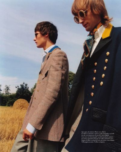 Laurens & Thomas Tackle Fall Layers for Esquire Italia