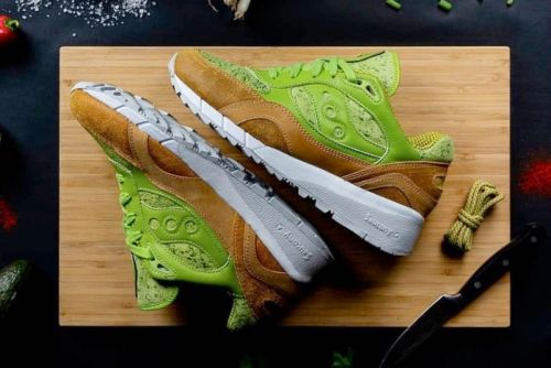 """Saucony Joins in on the Healthy Food Craze With Shadow 6000 """"Avocado Toast"""""""