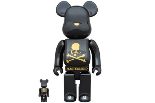 MEDICOM Toy and mastermind WORLD Come Together for 100% & 400% BE RBRICKs