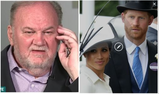 "Meghan Markle's Dad Hints Prince Harry ""Might Have Been"" a Trump Supporter"