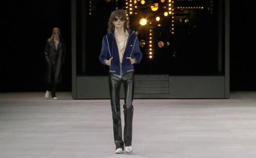 PFW: Hedi Slimane channels the 70s at Celine