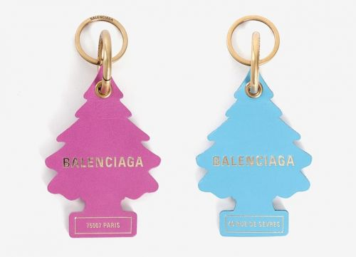 Balenciaga are being sued for copying Little Trees air fresheners