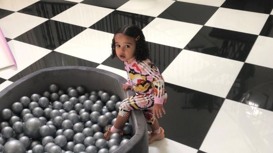Rob Kardashian Shares Rare, New Photo of His Sweet Daughter Dream: 'LOL Hi'