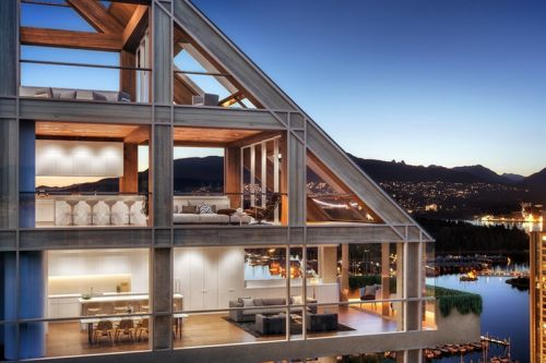 Inside the World's Tallest Hybrid Timber Tower in Vancouver