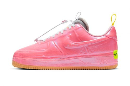 """Nike Shrink Wraps the Air Force 1 Experimental """"Racer Pink"""""""