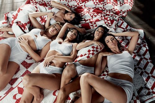 The Kardashian-Jenner Sisters Front Calvin Klein's Latest Campaign