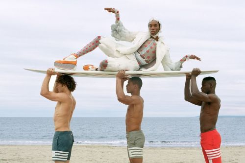 Thom Browne's Latest Beach Lookbook Immortalizes a Seagull