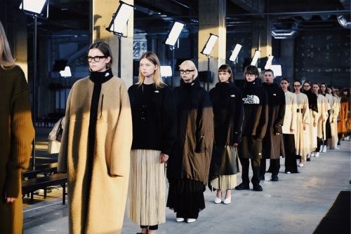 Go Backstage at the HYKE x The North Face Fall/Winter 2019 Presentation
