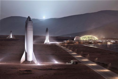 SpaceX Previews Its Mars Base Alpha and New BFR Design