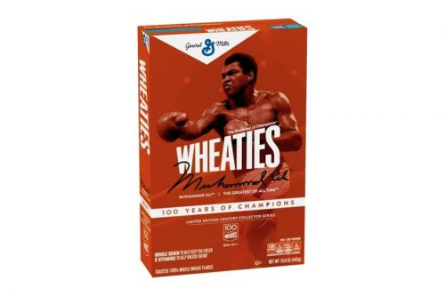 Wheaties Drops Limited Edition Muhammad Ali Packaging To Celebrate 100 Years