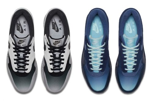 """Nike Keeps the Air Max 1 Wave Riding Strong With Premium """"Gradient Toe"""" Pack"""