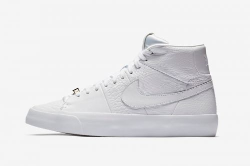"""Nike Releases Blazer Royal in """"Triple White"""" Colorway"""