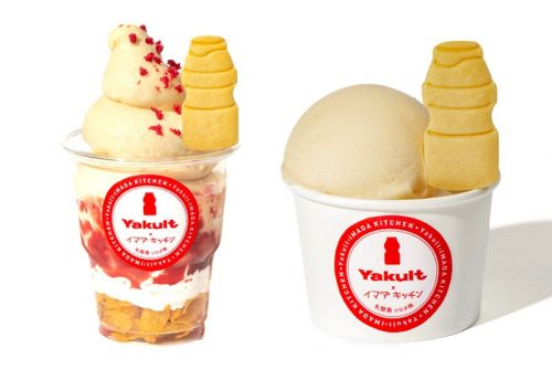 Yakult Introduces New Ice Cream Made With Its Classic Formula