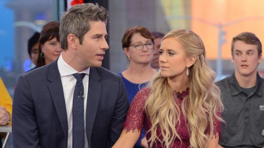 Arie Luyendyk Lauren Burnham Clap Back At Troll Who Said Their Baby Is An 'Oops'