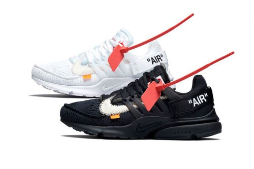"""Official Look at The """"All-Black"""" & """"All-White"""" Virgil Abloh x Nike Air Prestos"""
