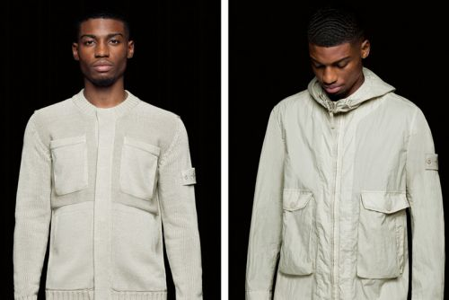 Stone Island Goes Monochromatic for SS19 Ghost Collection