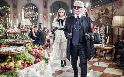 Karl Lagerfeld, fashion's quick-witted king