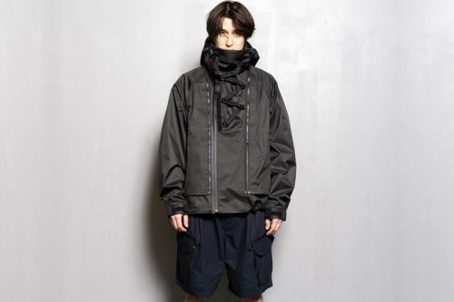 MEANSWHILE Introduces Air Circulation System Rain Jacket