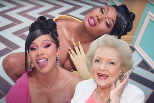 Fans say Betty White should be in Cardi B's 'WAP' video, not Kylie Jenner