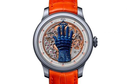 """A Closer Look at the Francis Ford Coppola x FP Journe Only Watch """"FFC Blue"""" Prototype"""