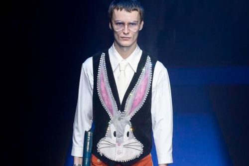 Gucci's Spring/Summer 2018 Collection Taps Bugs Bunny, Snow White & Evel Knievel