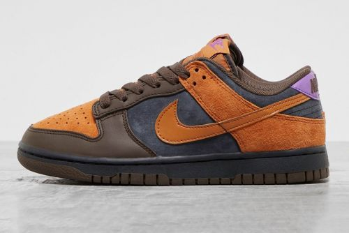 """Nike Dunk Low Surfaces in Fall-Ready """"Cinder/Dark Chocolate/Wild Berry/Off Noir"""" Mix"""
