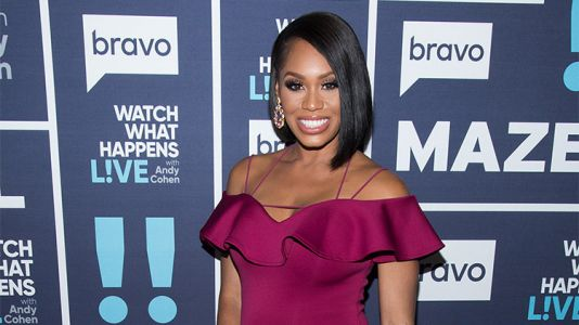 Pregnant Monique Samuels Flaunted Her Baby Bump at the 'Real Housewives of Potomac' Reunion
