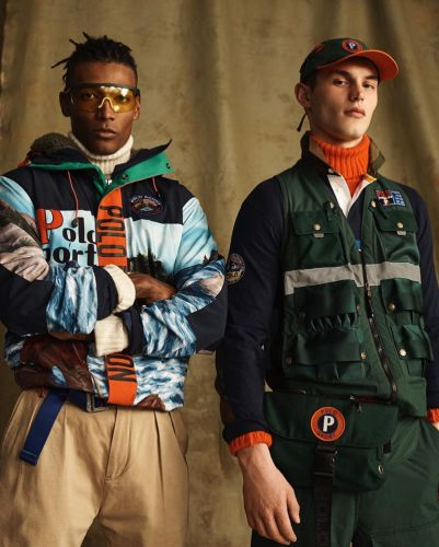 Kit & David Embrace Outdoors Style with POLO Sport Collection