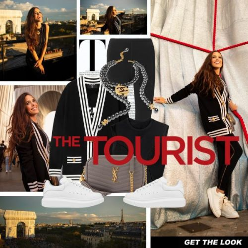 My Look: The Tourist