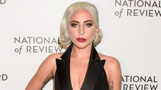 Lady Gaga Shows Off A Lot Of Skin In A Sparkly Black Dress During The 2019 National Board Of Review Gala