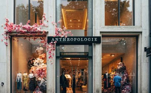 Anthropologie launches first continental European store