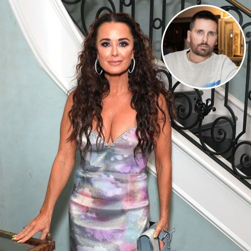 Kyle Richards 'Wouldn't Approve' of Her Daughters Dating Scott Disick After Amelia Gray Hamlin Split
