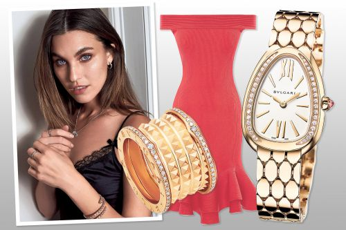 Rainey Qualley picks her favorite bags and bling for spring