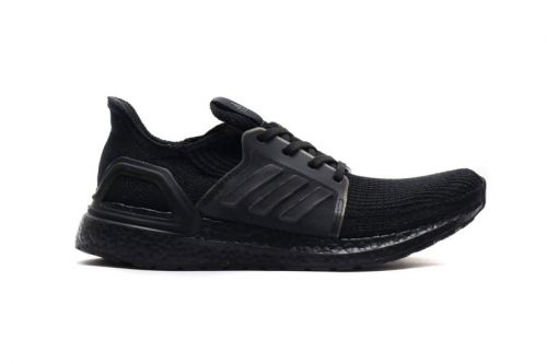 """Adidas' UltraBOOST 19 Gets Dressed in Stealthy """"Core Black"""""""