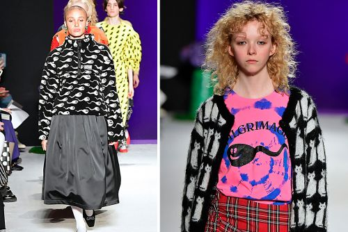 Sperm were the hot trend at London Fashion Week