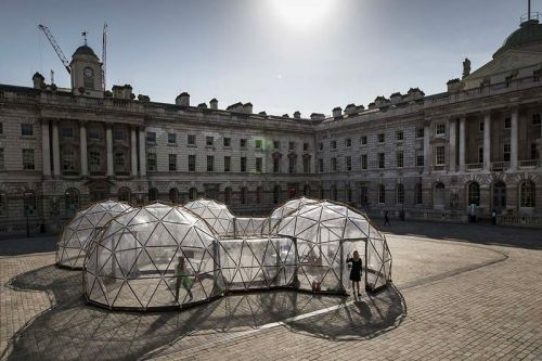 London 'Pollution Pods' Lets You Experience the Air Quality of Cities Around the World