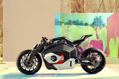 BMW Announces Electrified Motorrad Vision DC Roadster Concept