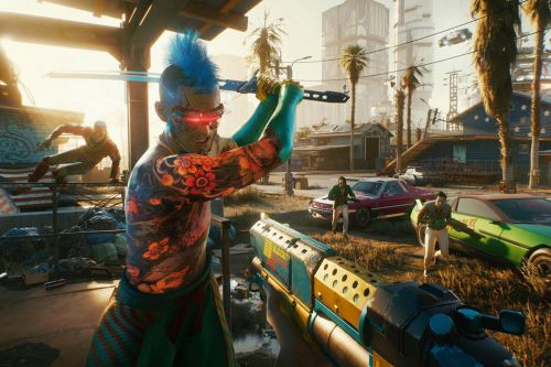 'Cyberpunk 2077' finally launches on PlayStation 4 - with a warning