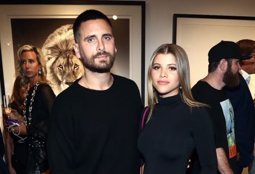 So, Uh, It Really Looks Like Sofia Richie Hasn't Left Scott Disick's Couch In Days