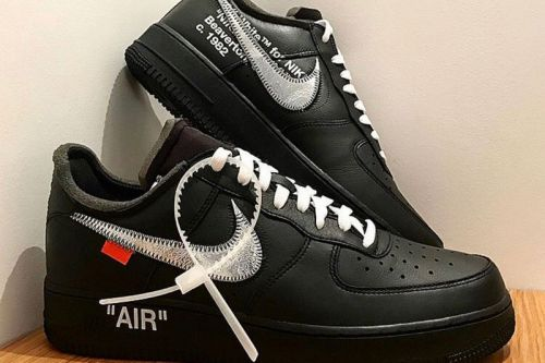 Get a Closer Look at the Virgil Abloh x MoMA Air Force 1 '07