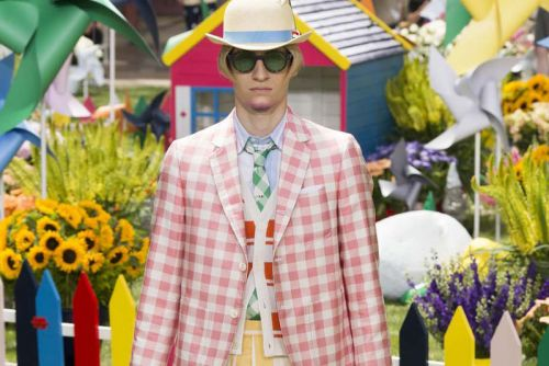 Thom Browne Takes a Trip to Wonderland for SS19