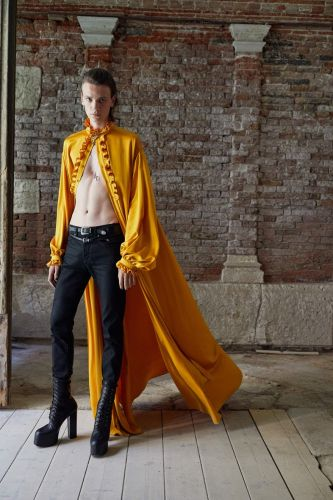 Saint Laurent's New Men's Collection Draws on the House's Couture History